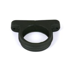 Downpipe Clip Industrial Cast Iron Effect Black