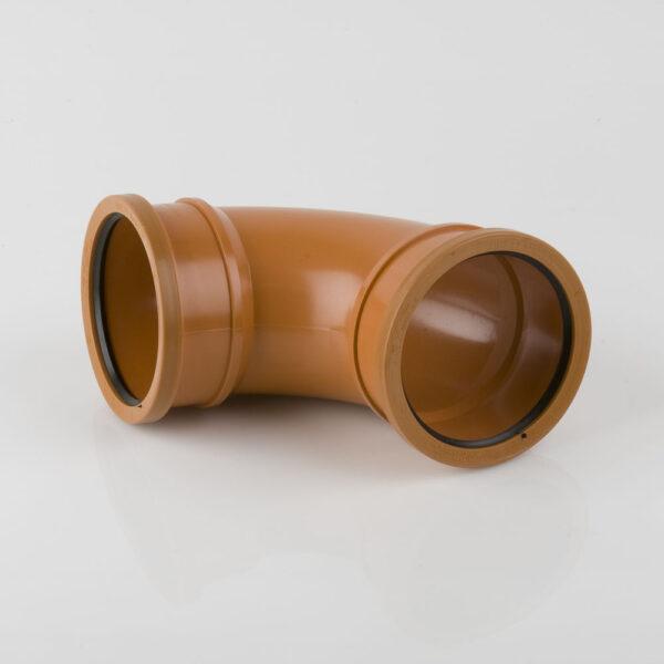 110mm x 87.5° Double Socket Bend