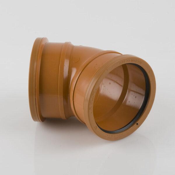 110mm x 45° Double Socket Bend