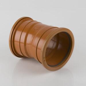 110mm x 11.25° Double Socket Bend