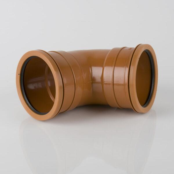 110mm x 67.5° Double Socket Bend