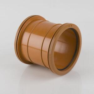 110mm Double Socket PVC Slip Coupler