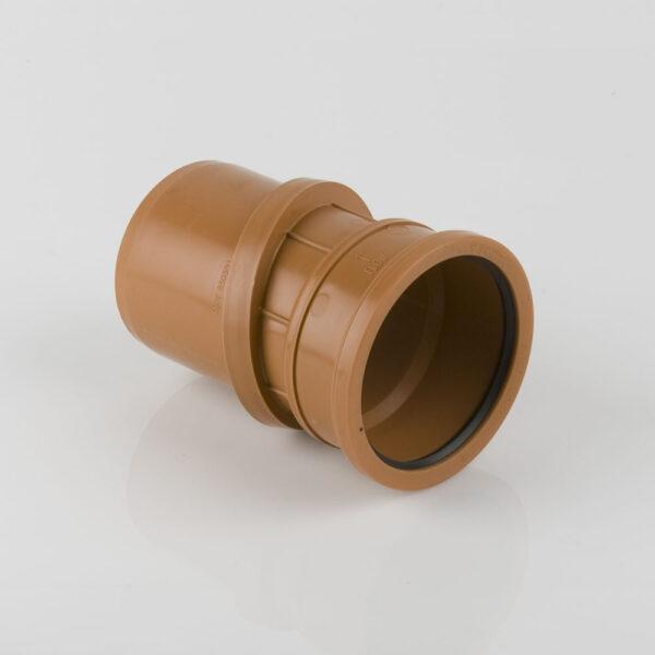 110mm x 0-30° Adjustable Single Socket Bend