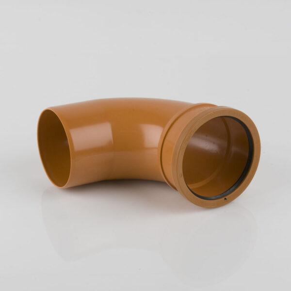 110mm x 87.5° Single Socket Bend