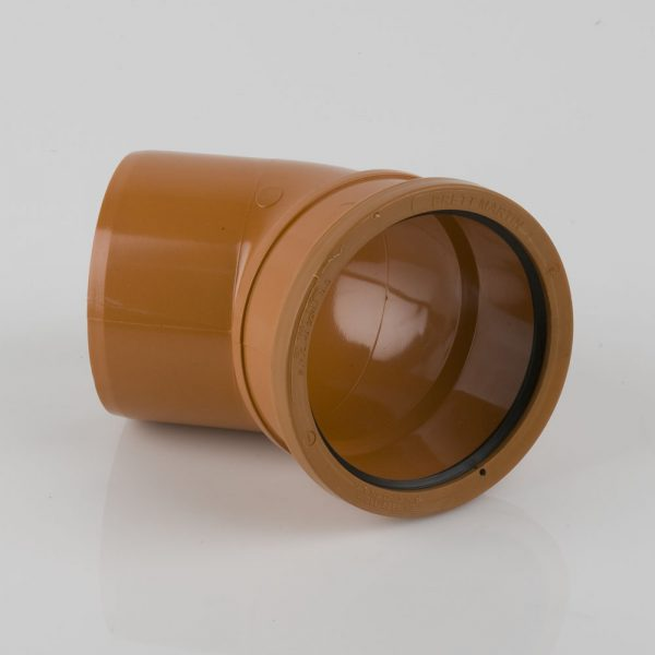 110mm x 45° Single Socket Bend