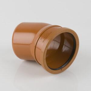110mm x 22.5° Single Socket Bend