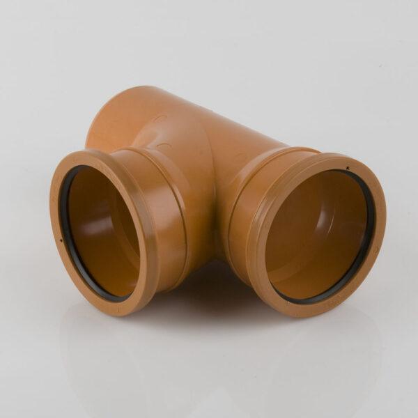 110mm x 87.5° Double Socket Branch