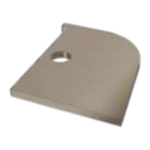 Coastline Window Head Trim End Closer Taupe