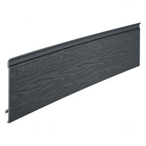 CL200GY1 Coastline Feather Edge Plank 203mm x 5m Anthracite Grey