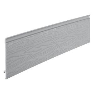 Coastline Feather Edge Plank 203mm x 5m Moondust Grey